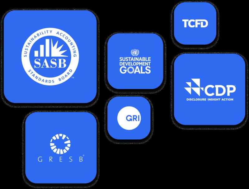 ESG Frameworks Logos